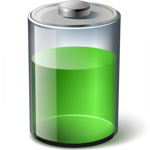 Iconexperience V Collection Battery Green Icon