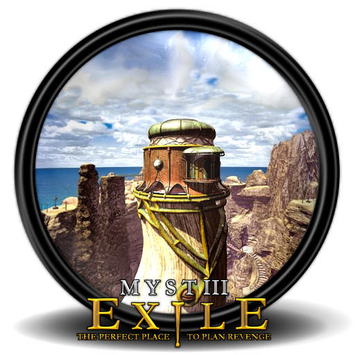 Myst Iii Exile Icon Mega Games Pack Iconset Exhumed