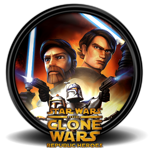 Star Wars The Clone Wars Rh Icon Mega Games Pack Iconset
