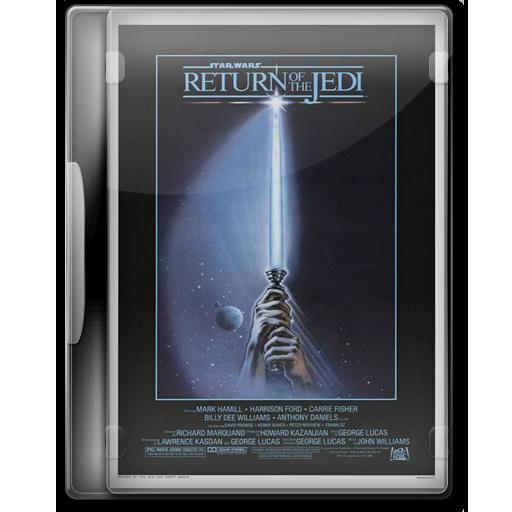 Star Wars Return Of The Jedi Icon Star Wars Dvd Iconset Manueek