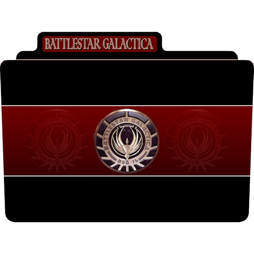 Battlestar Galactica Icon Tv Movie Folder Iconset Aaron Sinuhe