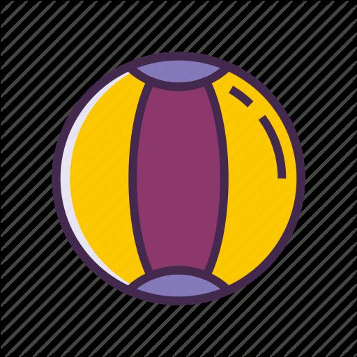 Ball, Beach Ball Icon