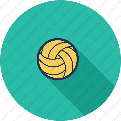 Download Ball,play,sport,volleyball,beach Icon Inventicons