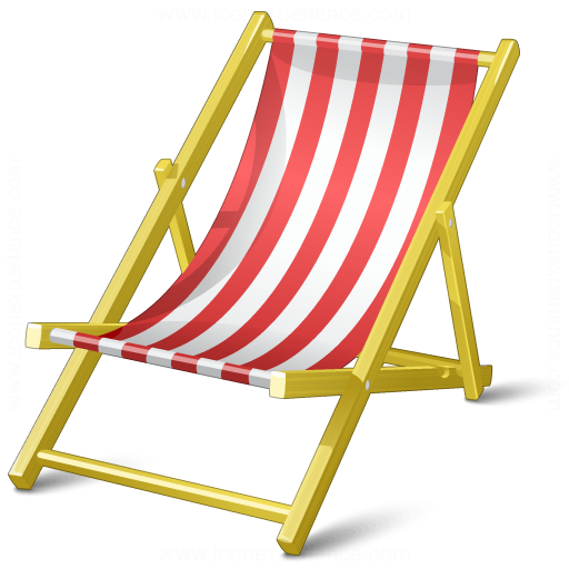 Iconexperience V Collection Deck Chair Icon