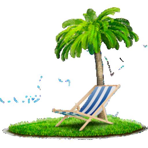 Palm, Chair, Beach Png