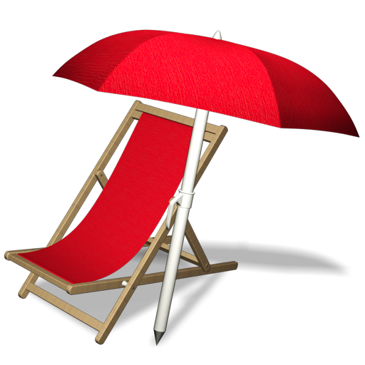 Umbrella, Hammock, Beach, Chair Icon Free Of Summer Front Row Icons
