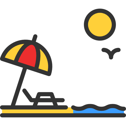 Beach Free Vector Icons Designed