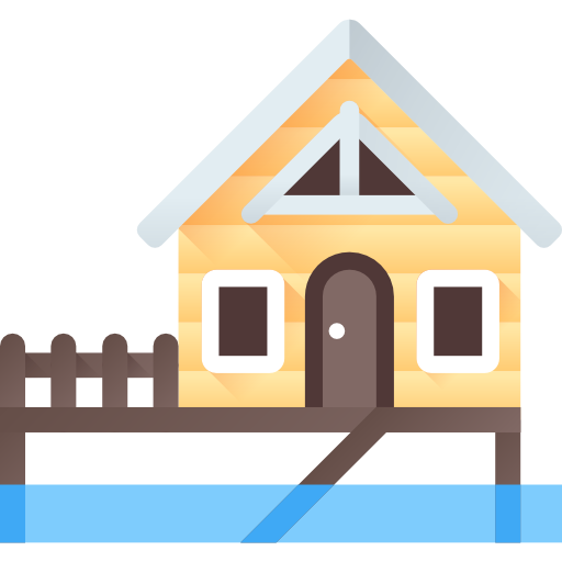 Cottage Vector Beach Transparent Png Clipart Free Download