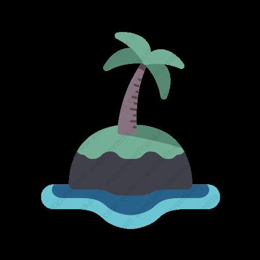 Download Island Icon Inventicons
