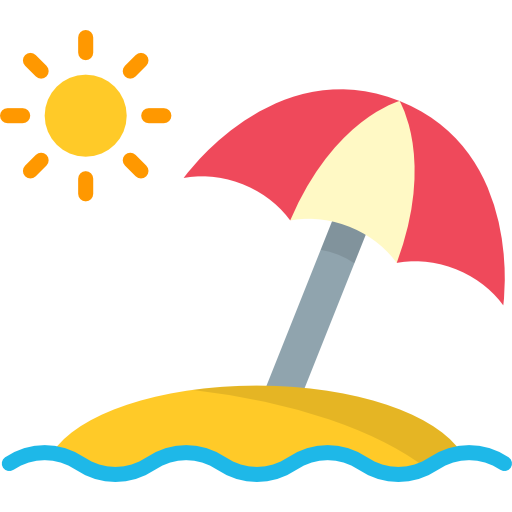 Sun Umbrella Free Vector Icons Designed