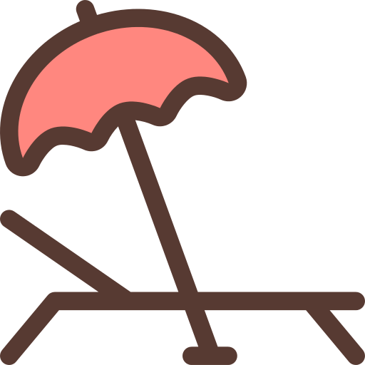 Sunbed Beach Png Icon