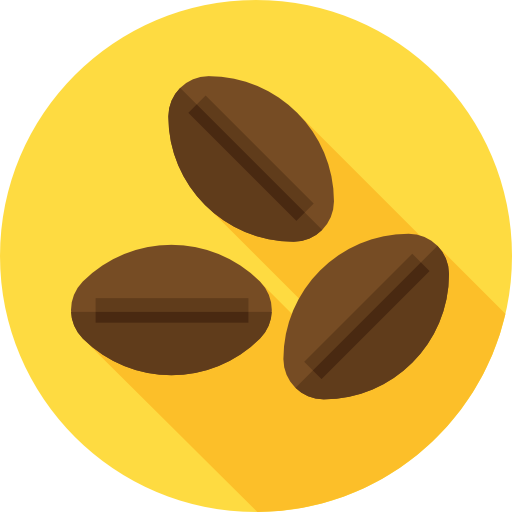 Coffee Beans Icon Coffee Shop Freepik