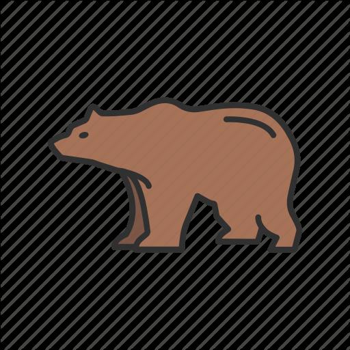 Animal, Bear, Bear Market, Brown Bear Icon
