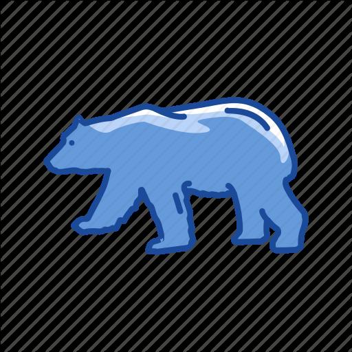 Animal, Bear, Bear Market, Stock Marketing Icon