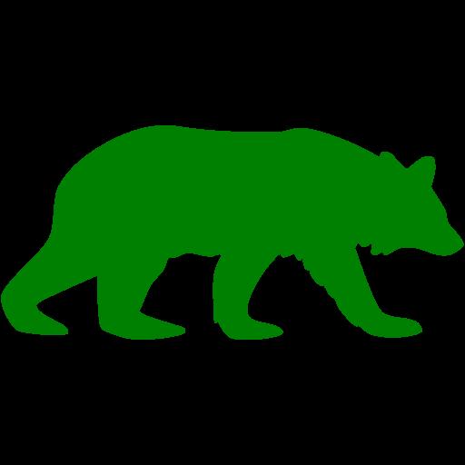 Green Bear Icon