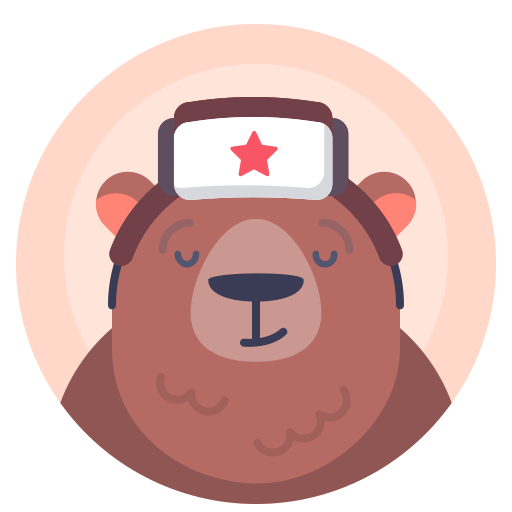 Animal, Avatar, Bear, Russian Icon Free Of Xmas Giveaway