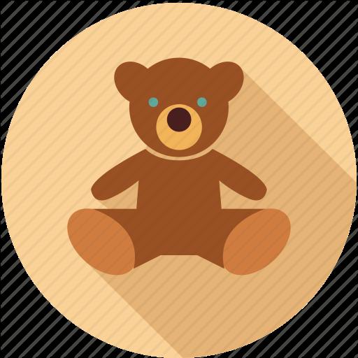 Bear, Kid Toy, Teddy Bear Icon