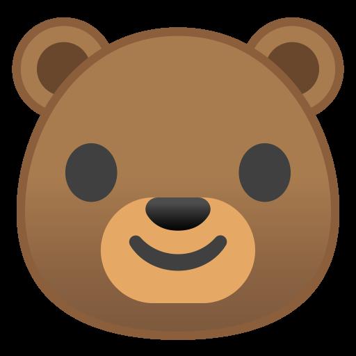 Bear Face Icon Noto Emoji Animals Nature Iconset Google