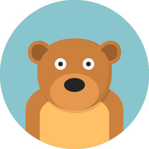 Bear Icon Animals Pixel Perfect