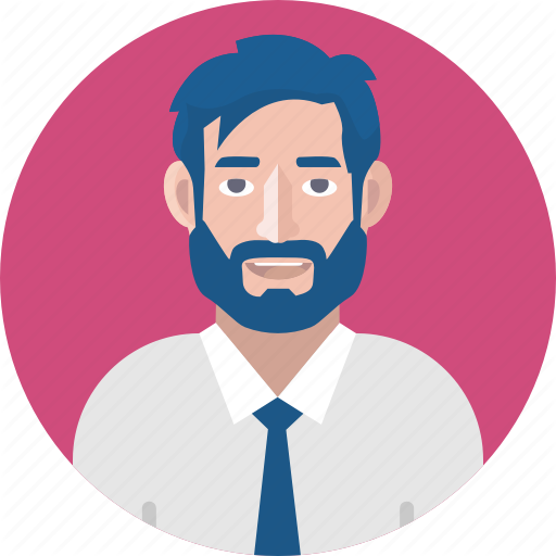 Avatar, Bearded Man, Business, Businessman, Male Avatar, Male