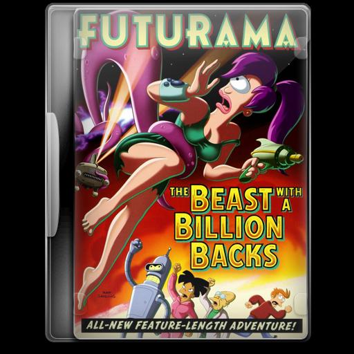 Covers, Cover, Futurama, The, Beast, With, A, Billion, Backs
