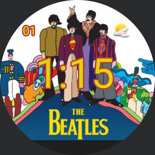 Beatles Yellow Submarine For Moto