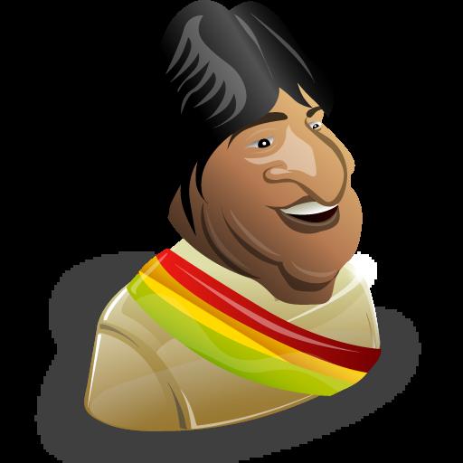 Evo Morales Icon
