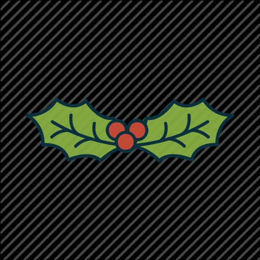 Christmas, Elements, Mistletoe, Pack, Tradition, Icon