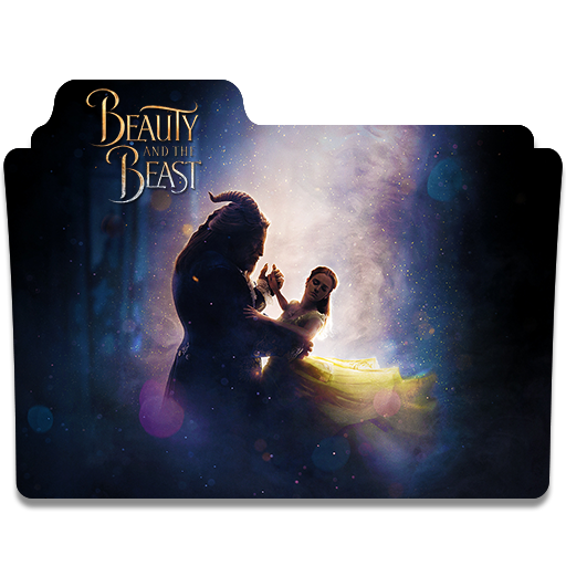 Beauty And The Beast Folder Icon