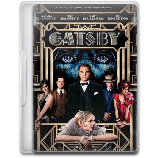 Covers, Cover, The, Great, Gatsby, Movie, Movies Icon Free