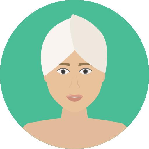 Dark Hair Clipart Beauty Icon