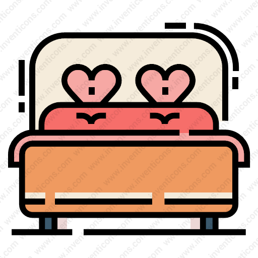 Download Double,bed Icon Inventicons