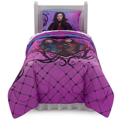 Disney's Descendants Bad Vs Good Reversible Bed Set Bedroom