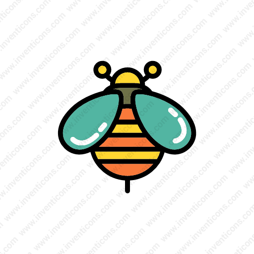 Download Bee Icon Inventicons