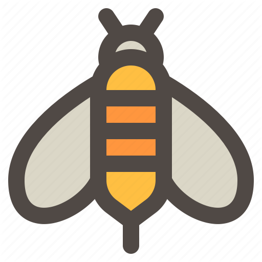 Bee, Honey, Insect, Spring Time, Summer Icon