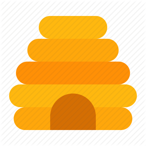 Beehive, Farm, Hive, Honey Icon