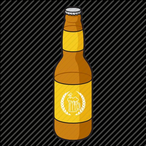 Alcohol, Beer, Beer Bottle, Bottle, Drink, Glass Bottle Icon