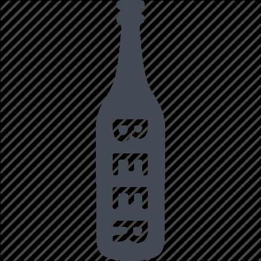 Alcohol, Beer, Beer Bottle, Bottle, Drink, Glass Icon