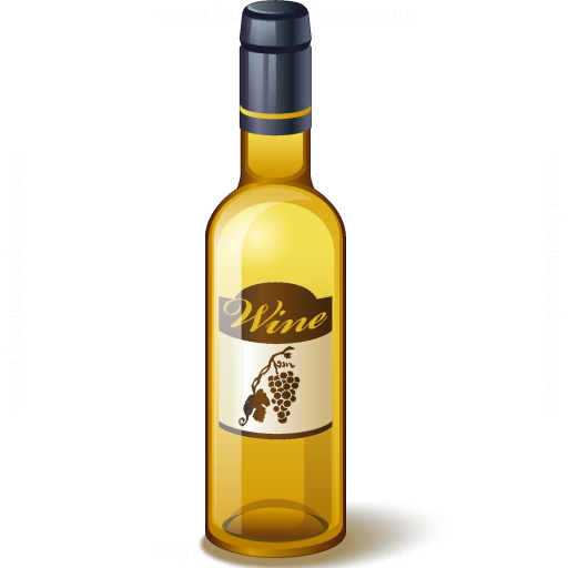 Iconexperience V Collection Wine White Bottle Icon