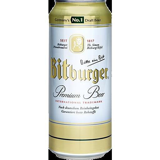 Bitburger Beer Can