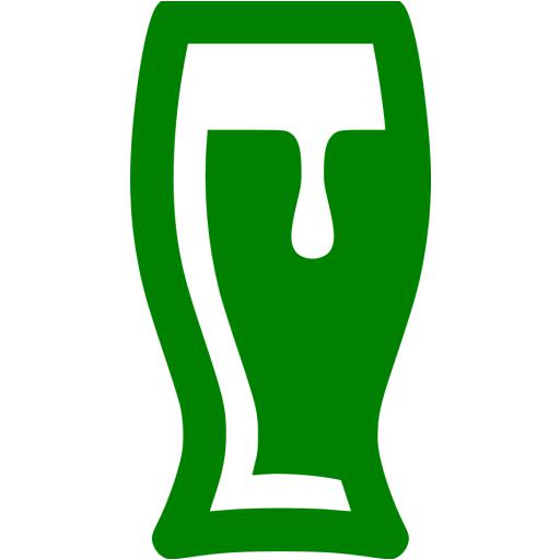 Green Beer Glass Icon