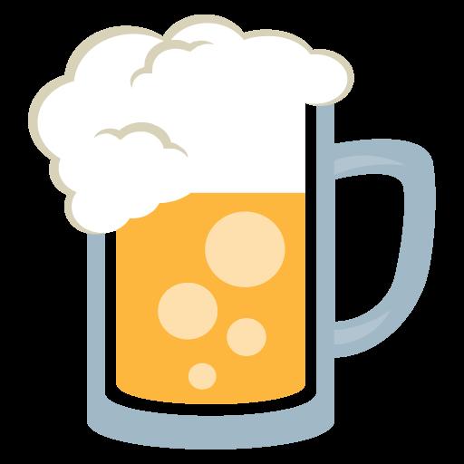 Beer Mug Emoji Vector Icon Free Download Vector Logos Art