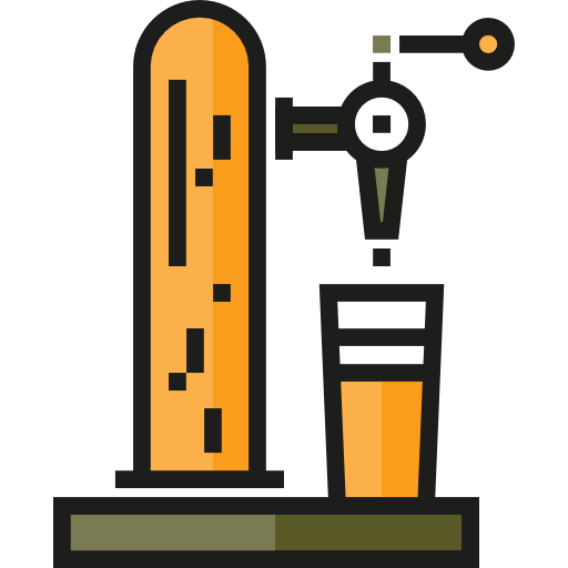 Bar, Tap, Beer Icon