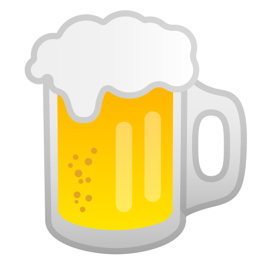 Beer Mug Icon Noto Emoji Food Drink Iconset Google