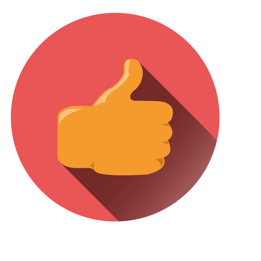 Facebook Circle With Thumbs Up Vector Logo Png Images