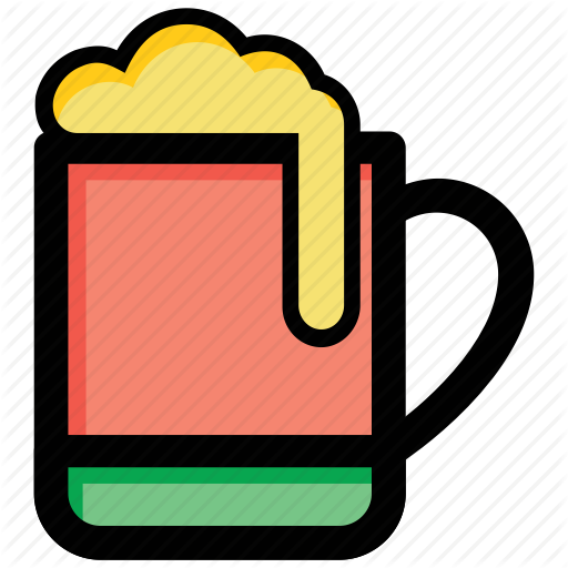 Alcohol, Beer Mug, Beer Pint, Chilled Beer, Wine Icon