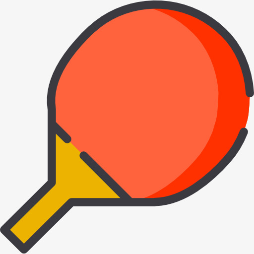 Ping Pong Paddle, Movement, Cartoon Png Image And Clipart For Free