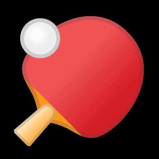 Ping Pong Icon Noto Emoji Activities Iconset Google