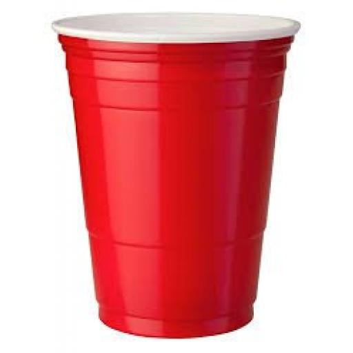 Red American Party Cups