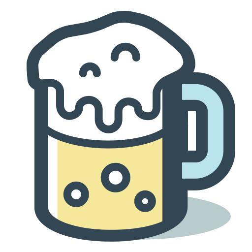 Beer Mug, Fill, Linear Icon With Png And Vector Format For Free